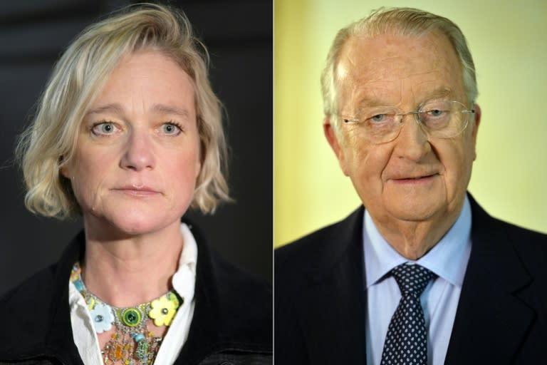 Belgian ex-king backs secret daughter's royal welcome