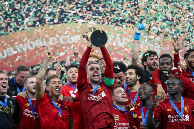 World champions: Liverpool have already won the UEFA Super Cup and Club World Cup this season