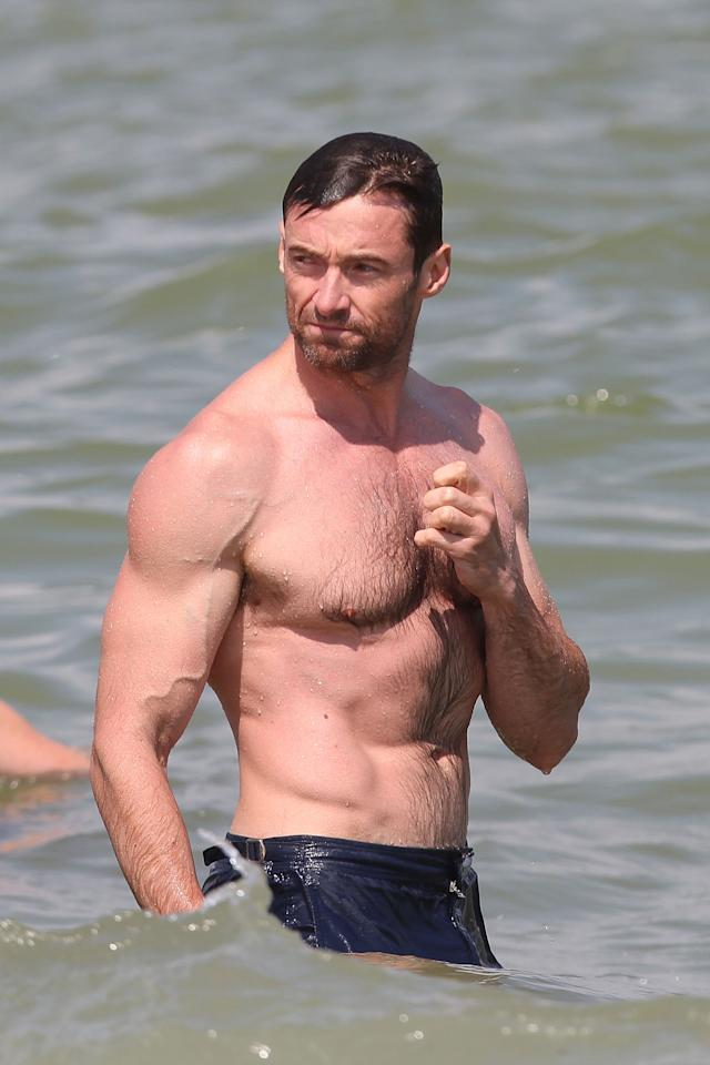 <p>The ladies love him and the men want to be him. Here's some fitness and health gift ideas to help the men in your life get that one step closer to their dreams of channelling their inner Hugh Jackman. Source: Getty </p>