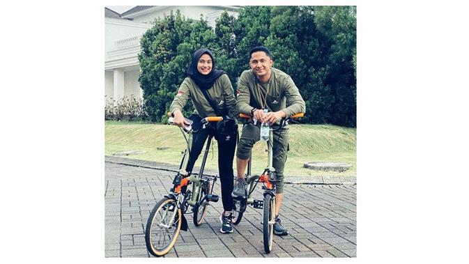 Hengky Kurniawan dan Sonya Fatmala (Sumber: Instagram/hengkykurniawan)