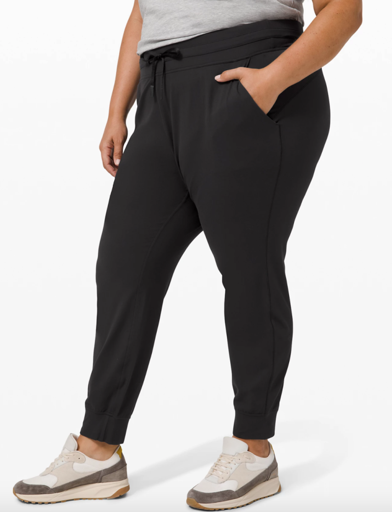 "Ready to Rulu Jogger 29"" in Size 20. $108. Image via Lululemon."