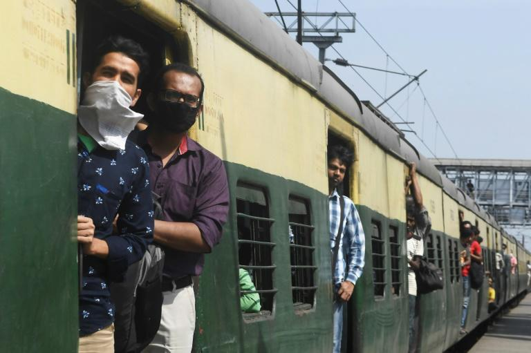 Indian Railways -- one of the world's biggest networks which carries more than 20 million passengers daily -- has cancelled all services except suburban and goods trains