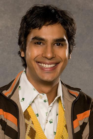 "Rajesh Koothrappali, ""The Big Bang Theory"" (CBS)"