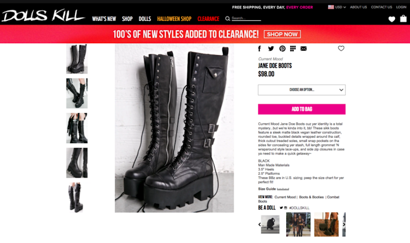 f24104228cb83 Boots with  cocaine pockets  come under fire