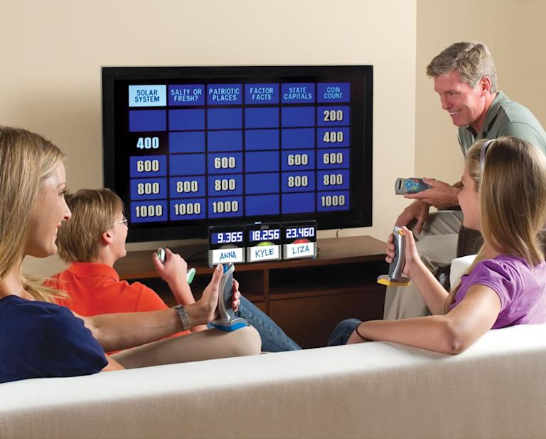 "Authentic At Home ""Jeopardy"" Game"