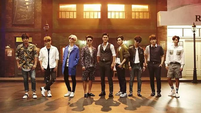 Super Junior grup besutan SM Entertainment. (Foto: Soompi.com)