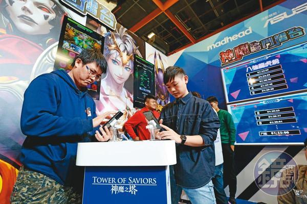 手機遊戲占整體電玩業產值逾4成,是各廠商的必爭之地。