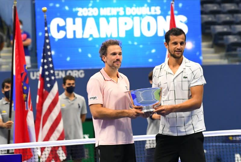 Pavic, Soares claim U.S. Open men's doubles crown