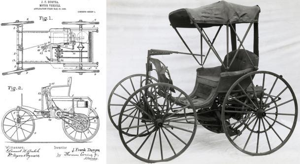 October 8: Frank Duryea, the first automobile driver in America, born on this date in 1869