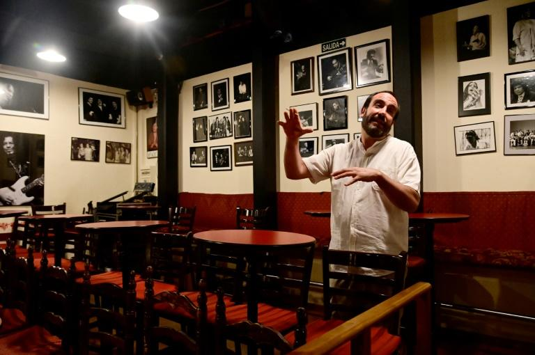 Casa Patas owner Martin Guerrero says that flamenco is 'very much alive' in spite of the current crisis