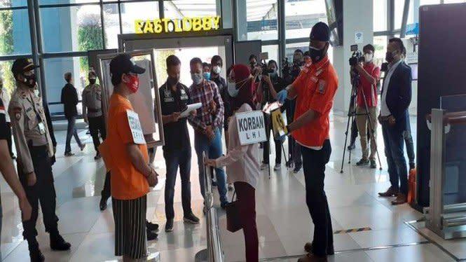 Fakta Baru, Petugas Rapid Test Bandara Cabuli Korban di 2 Tempat