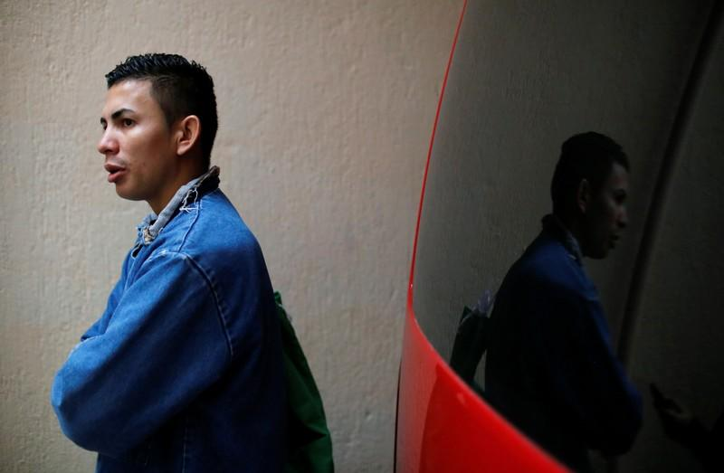 Erwin Ardon, the first Honduran migrant sent back home under new restrictions pushed by U.S. President Donald Trump, talks to Reuters, in Guatemala City