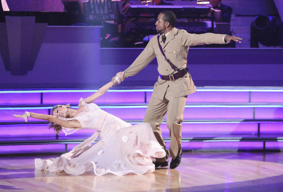 Kym Johnson and Jaleel White (4/30/12)