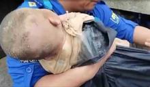 鄭州洪災女嬰被埋1天獲救 母親維持托舉姿勢罹難
