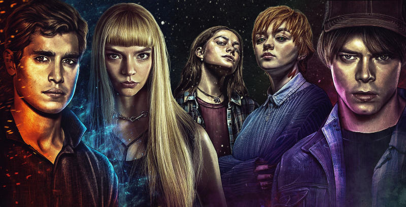 Poster art for 'The New Mutants'. (Credit: 20th Century Studios)