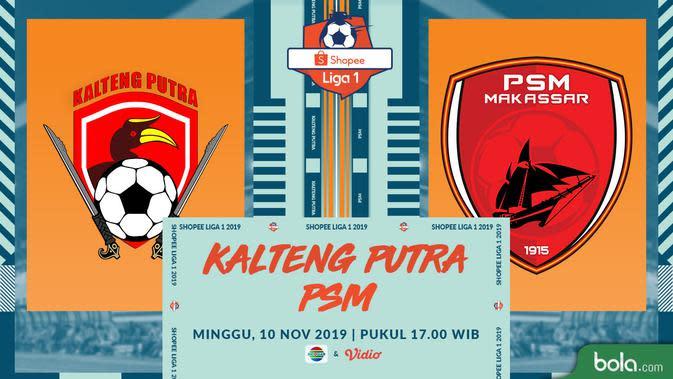PSM Makassar Tumbang 1-3 di Markas Kalteng Putra