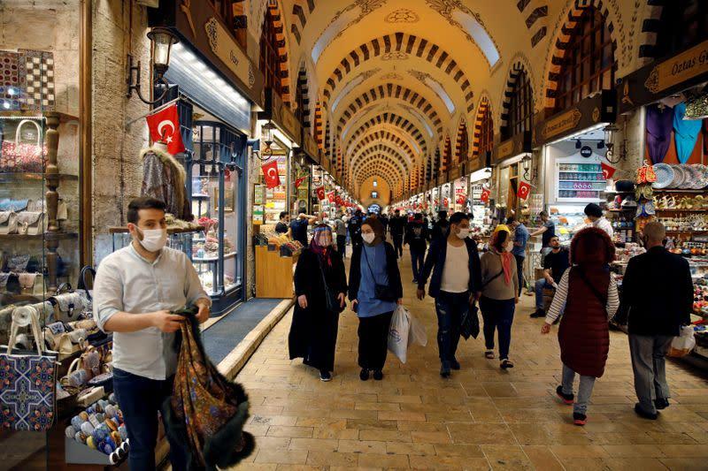 FILE PHOTO: The spread of the coronavirus disease (COVID-19), in Istanbul