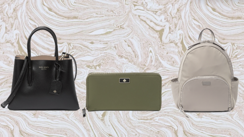 Flash sale! Save up to 75 percent on Kate Spade handbags and wallets. (Photo: Nordstrom Rack)