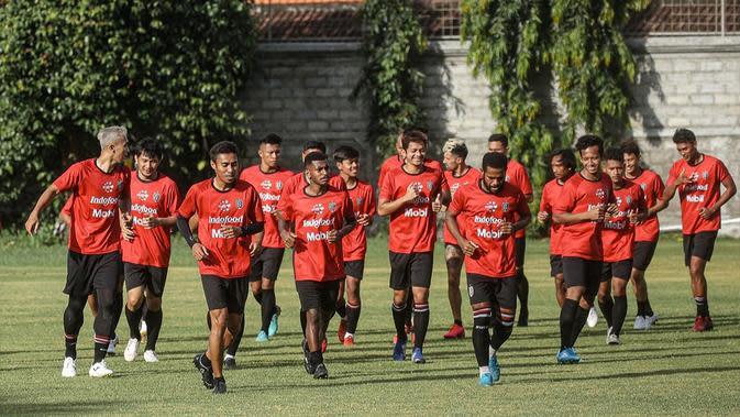 Bali United tak mengubah program latihan meski Shopee Liga 1 2020 ditunda ke November 2020. (dok. Bali United)