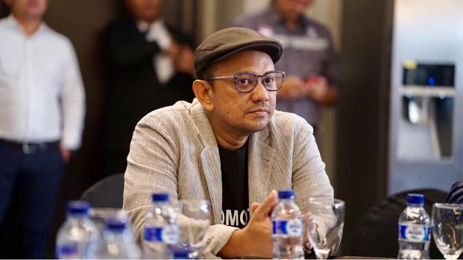 Anas Syahrul Alimi, promotor musik sekaligus event consultant pertunjukkan David Foster and Friends di De Tjolomadoe, Karanganyar
