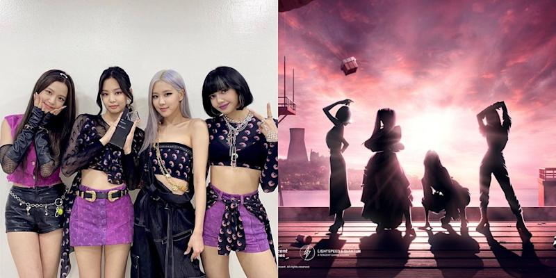 The mobile game's official Twitter account has shared photos hinting at a collabouration with Blackpink. — Pictures via Instagram/blackpinkofficial and Twitter/PUBGMOBILE