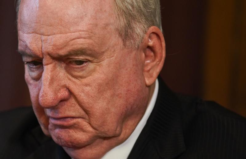 Pictured is a close up of Alan Jones.