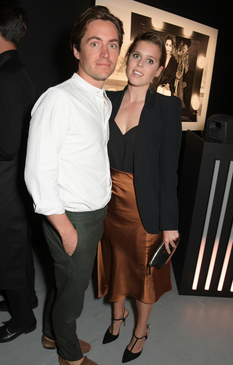 Princess Beatrice and boyfriend Edo enjoyed another date night on Wednesday. Photo: Getty
