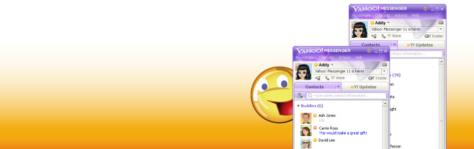 See What's Inside The New Yahoo Messenger