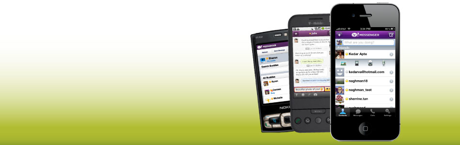 Enjoy chatting on the go with iPhone, Android or any Internet enabled phone.