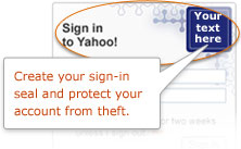 Yahoo! Sign-In Seal