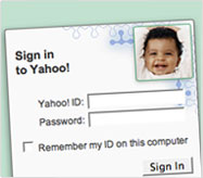 Yahoo! Personalized Sign-In Seal