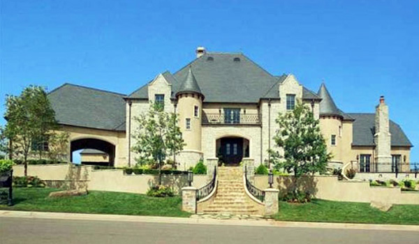 Top Celebrity Home Medieval Style Castle In Oklahoma