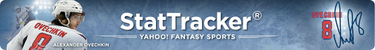 Yahoo Sports Fantasy Hockey StatTracker