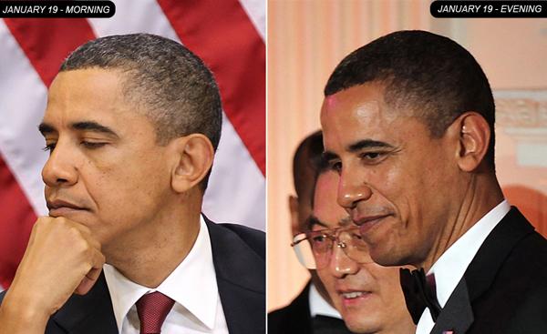 Oghenekevweworld Did Obama Dye His Gray Hair Away