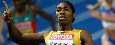South Africa's 800m Gold Medal Favourite Accuse Of Being A ...