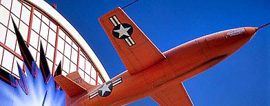 A replica of a Bell X-1 rocket-powered aircraft (Macduff Everton/CORBIS)
