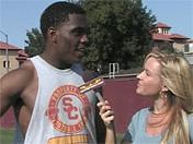 Linebacker Devon Kennard from summer workouts