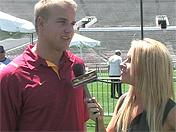 Matt Barkley one-on-one from Pac-10 Media Day