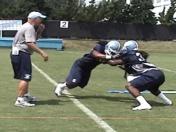 UNC Practice Highlights 8/9