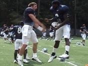UNC 8/23 Practice Highlights