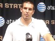Christian Ponder's weekly press conference