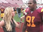 Trojan players happy with Cal win