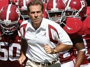 TUESDAY: Nick Saban