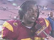 Trojan players talk about win over UCLA