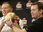 Randy Edsall's Fiesta Bowl Press Conference