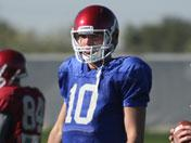 Fiesta Bowl practices: Blake Bell in action