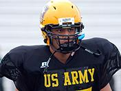 Harvey Langi highlights from Army practice day two
