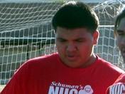Tony Verdugo mauls defenders