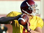 USC quarterback drills 3/29