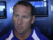 Beaty on young wide receivers in program